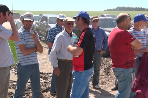 Movilización de productores agropecuarios entrerrianos con Colonia Merou  23/10/2019
