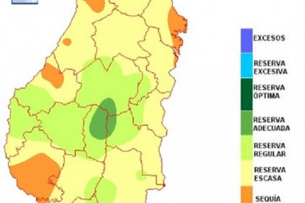 El balance hídrico refleja que el retroceso en el norte es muy significativo.