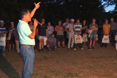 El semillero juninense AGseed realizó su jornada a campo en Colonia Reffino