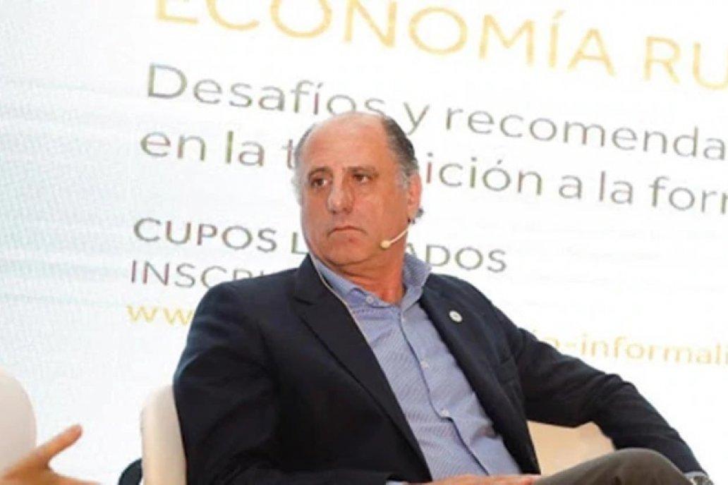 El entrerriano Jorge Chemes, presidente de CRA, uno de los promotores del paro.