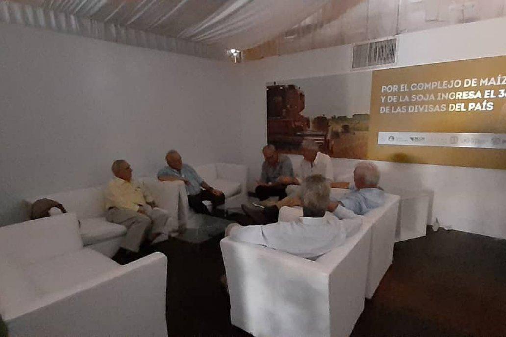 La Bolsa de Cereales de Entre Ríos dijo presente en Expoagro