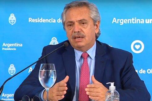 Alberto Fernández pidió garantizar el consumo nacional