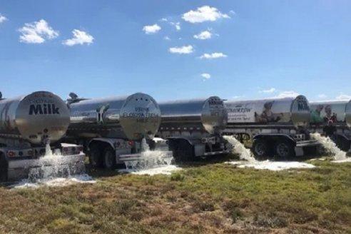 EE.UU.: Productores lecheros tiran leche debido al coronavirus
