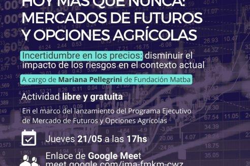 Hoy mas que nunca: Mercados de Fututos y Opciones Agrícolas
