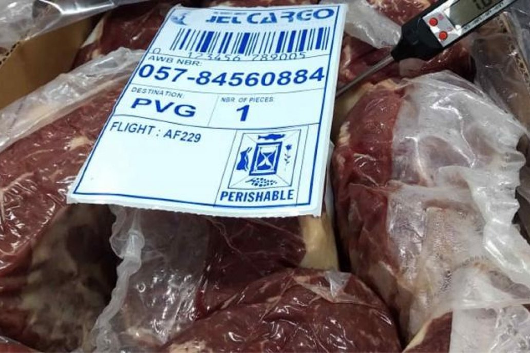 Casi una de cada cuatro toneladas de carne bovina que importa China es Argentina