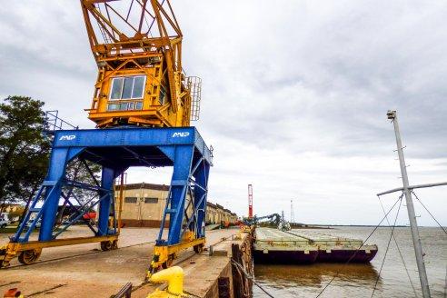 Puertos entrerrianos y uruguayos coordinan estrategias de trabajo conjuntas