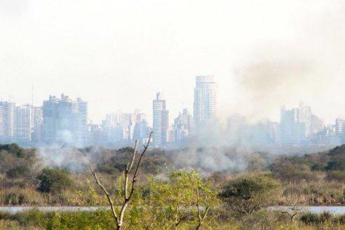 Denunciarán penalmente a los responsables de incendios en islas de jurisdicción provincial