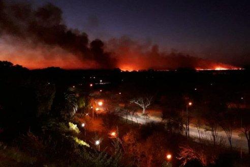 Nación, Santa Fe y Entre Ríos avanzarían en una reserva nacional por los incendios en el Delta