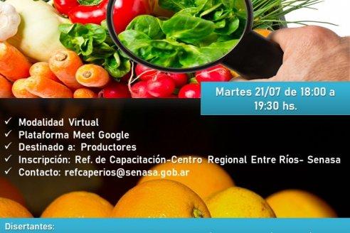 Entre Ríos: Jornada de actualización de BPA en la producción frutihortícola