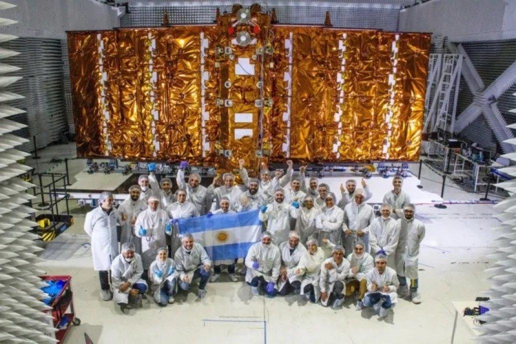 Desde la conae probaron en febrero este satelite argentino