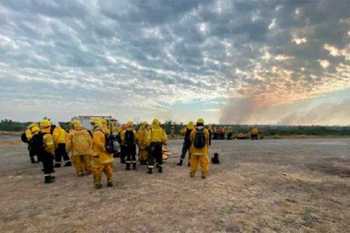 El gobierno provincial declaró la emergencia ambiental por los incendios en el Delta entrerriano