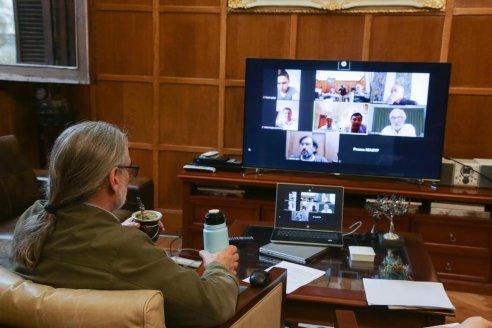 Citricultores entrerrianos mantuvieron una reunión con el Ministro de Agricultura de la Nación