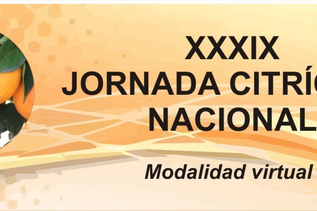 XXXIX JORNADA CITRICOLA NACIONAL - Modalidad Virtual