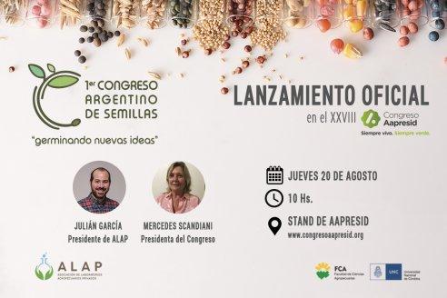 Se presentó el 1º Congreso Argentino de Semillas