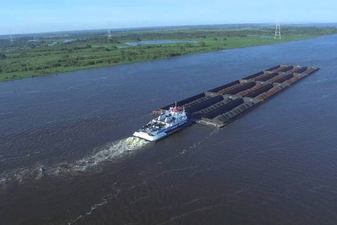 Bordet impulsa la integración de la hidrovía con el sistema ferroviario de la provincia