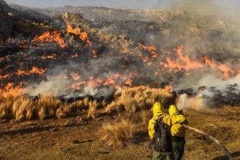 Récord de incendios en Córdoba: se quemaron unas 191 mil hectáreas