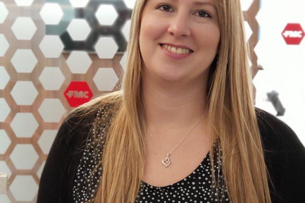 Natalia González. Gerente de Recursos Humanos de FMC Argentina S.A.