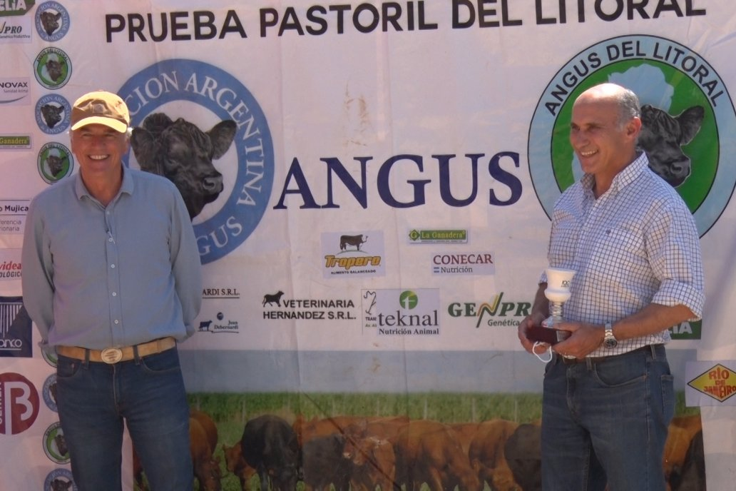 Premio Cabaña La Veranada - 5ta. P.P. Angus del Litoral