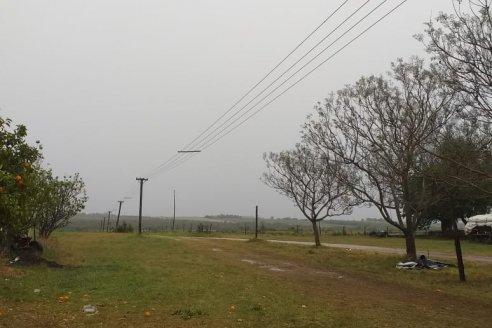 El frente de tormenta se traslada al norte entrerriano