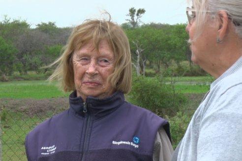 Maria Antonia Larocca - Estancia La Isabel - Arroyo Las Tunas - Reconociento a la Mujer Rural por parte de la Soc. Rural de Federa
