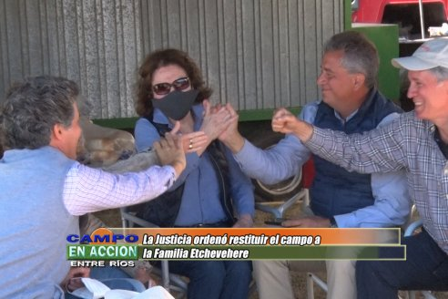 Jornada en Casa Nueva:  Fallo favorable a la familia Etchevehere
