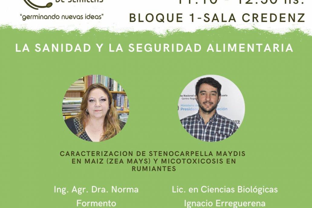 Norma Formento, de INTA Paraná, será una de las expositoras.