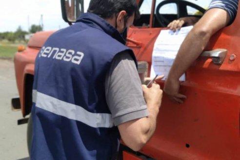Senasa concretó casi 15.000 inspecciones en rutas entrerrianas