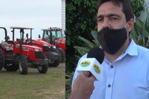 Tractores y rotoenfardadoras lideran ventas