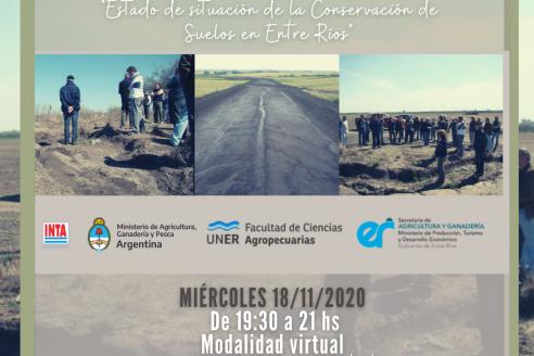 Actualización: estado de situación de la conservación de suelos en Entre Ríos