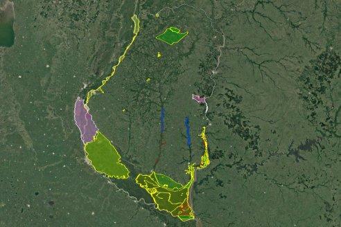 Entre Ríos tiene mapa de áreas protegidas