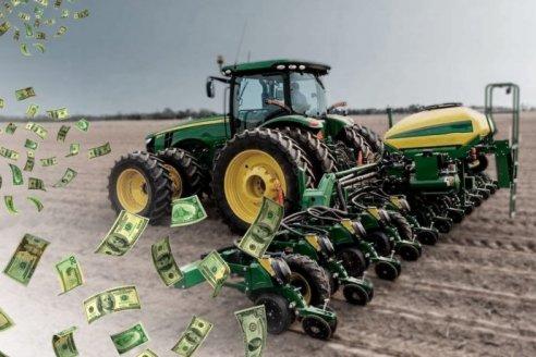 ¿A qué dólar se vende la maquinaria agrícola?