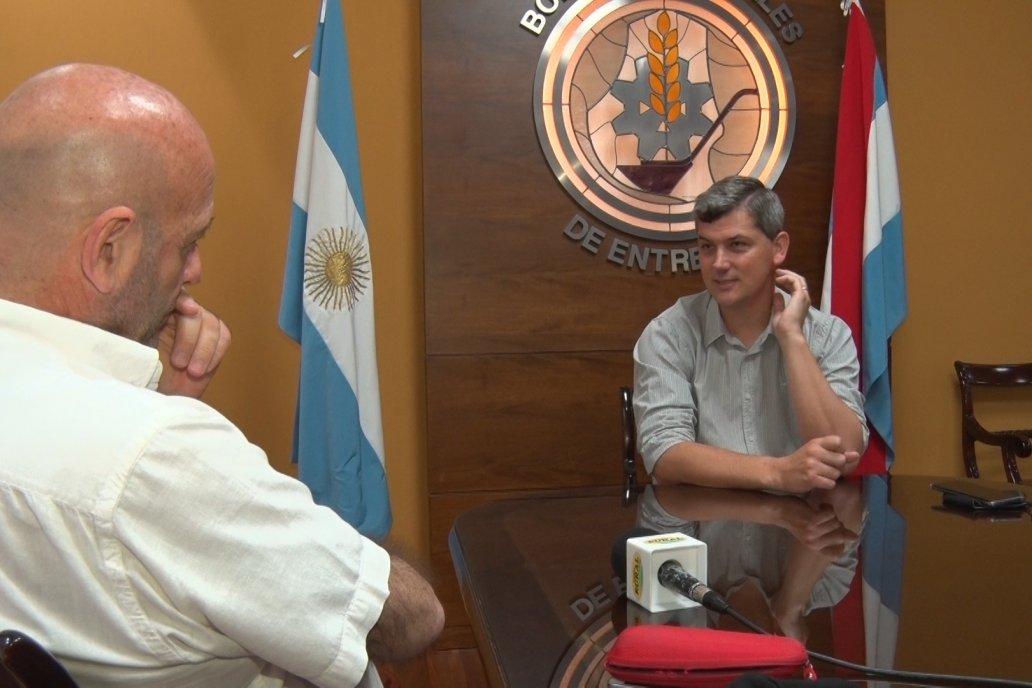 Entrevista a Diego Maier - Nuevo Presidente  de la Bolsa de Cereales de Entre Ríos