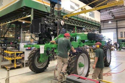 El ritmo de fabricación de maquinaria no cubre la demanda