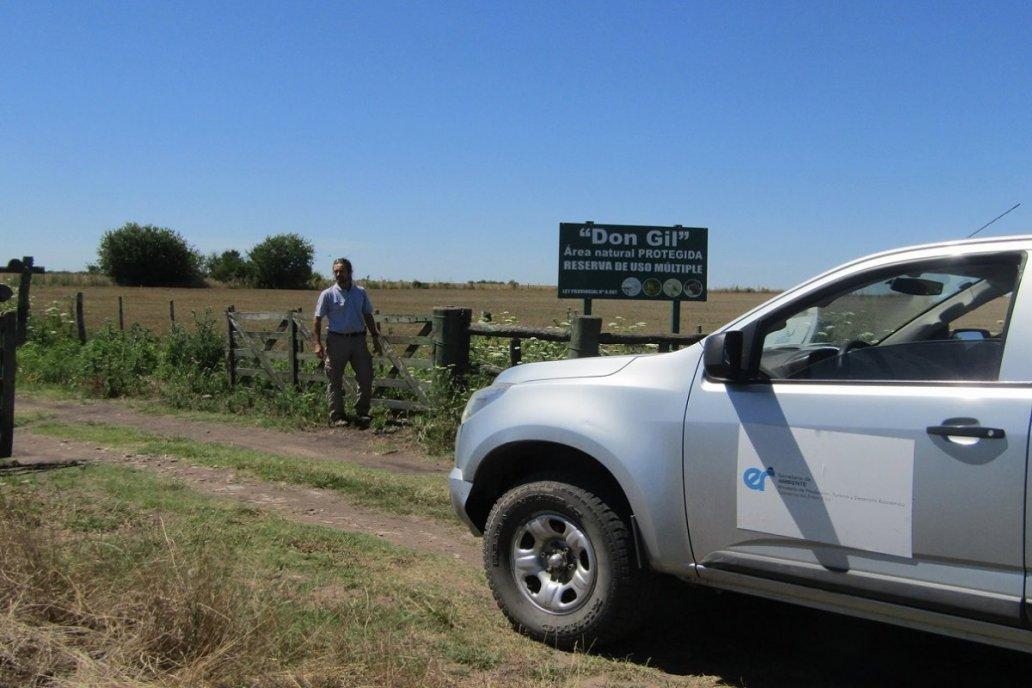 La reserva abarca un área de 1.30 hectáreas en el sur entrerriano.