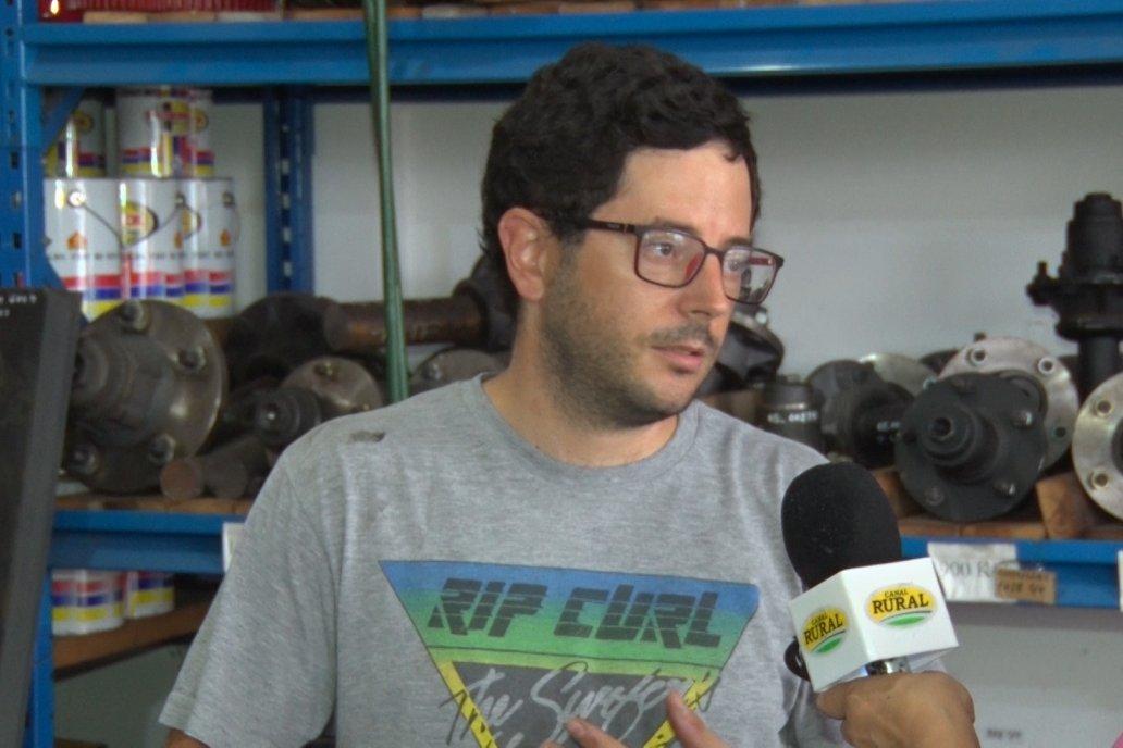 Federico Fiumano cuida que se mantenga el estilo de trabajo de su padre.