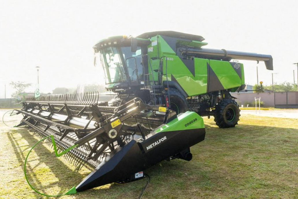 Metalfor regresa al mercado de las cosechadoras
