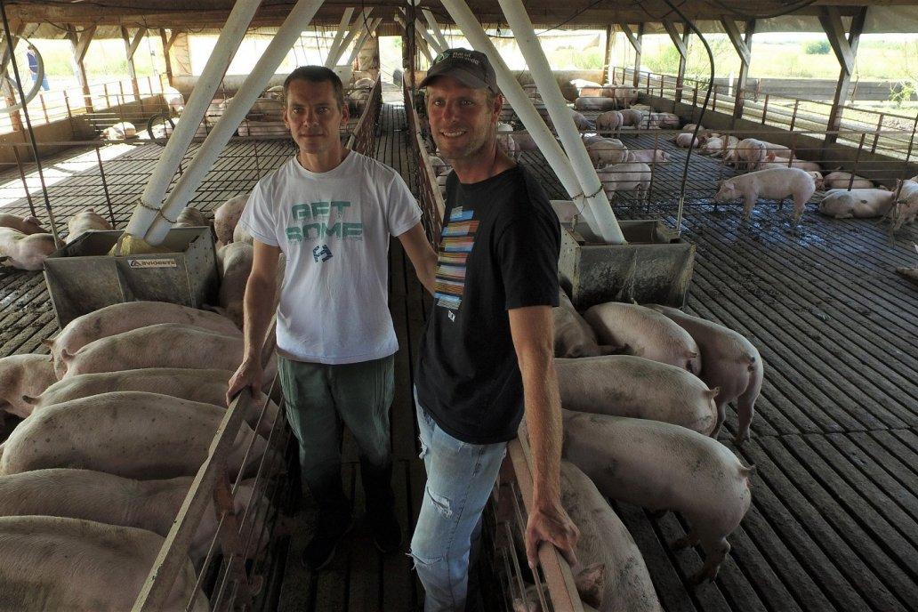 Miqueas y Josué, los hermanos impulsan la diversificación sustentable.