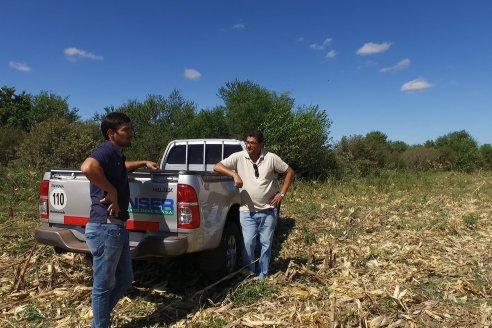 Visita a Establecimiento La Maqueta - Trilla de Maiz en cercanias de Aldea San Juan