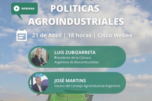 Políticas Agroindustriales con una mirada en el escenario post pandemia
