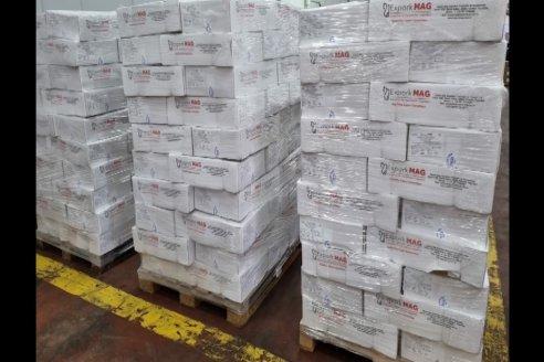 Marcelo Pagliaruzza - Gte.Coop.Agric.Gan.Aranguren Ltda.- Exportación de Carne de Cerdo