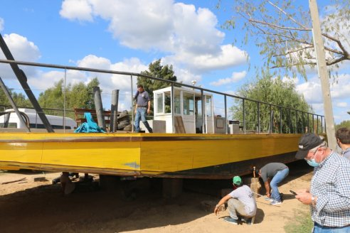 Villa Paranacito quedó sin servicio de balsa por dos meses