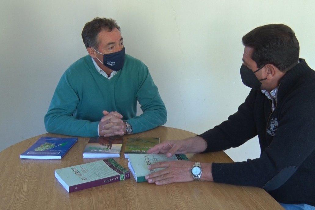 Quintero habló con Campo en Acción de brechas entre rindes reales y potenciales.
