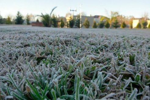 Fin de semana: heladas prolongadas con temperaturas muy bajas
