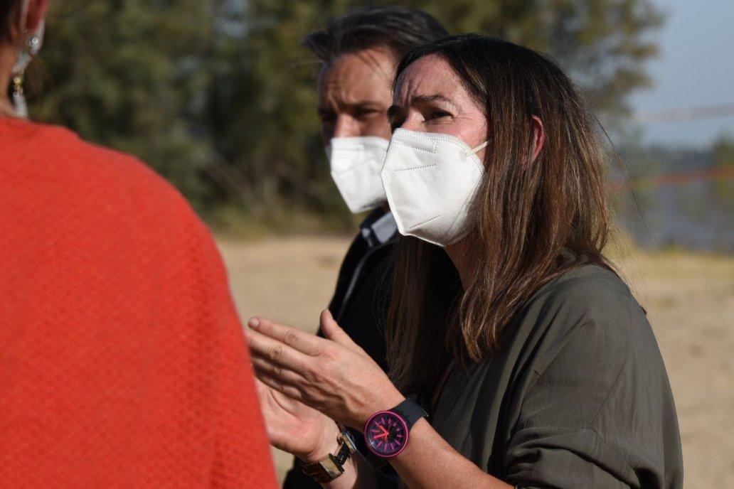 García, secretaria de Ambiente, habló de la evaluación del potencial de riesgo.