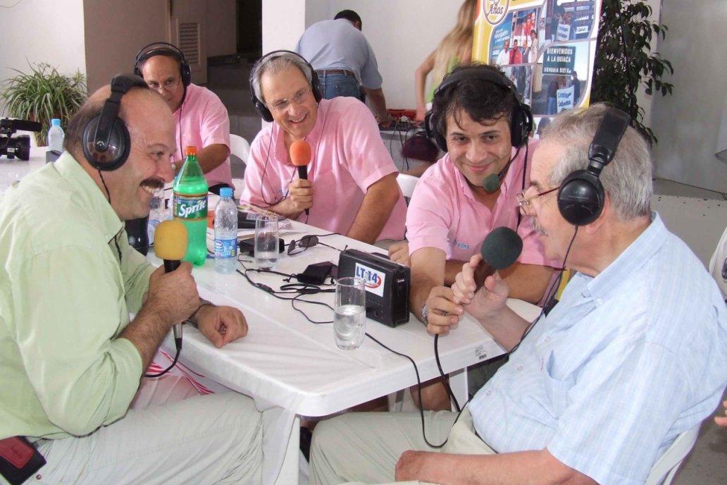 Postal. Periodistas de Campo en Acción y Caminata Sabatina dialogan con Don Luis