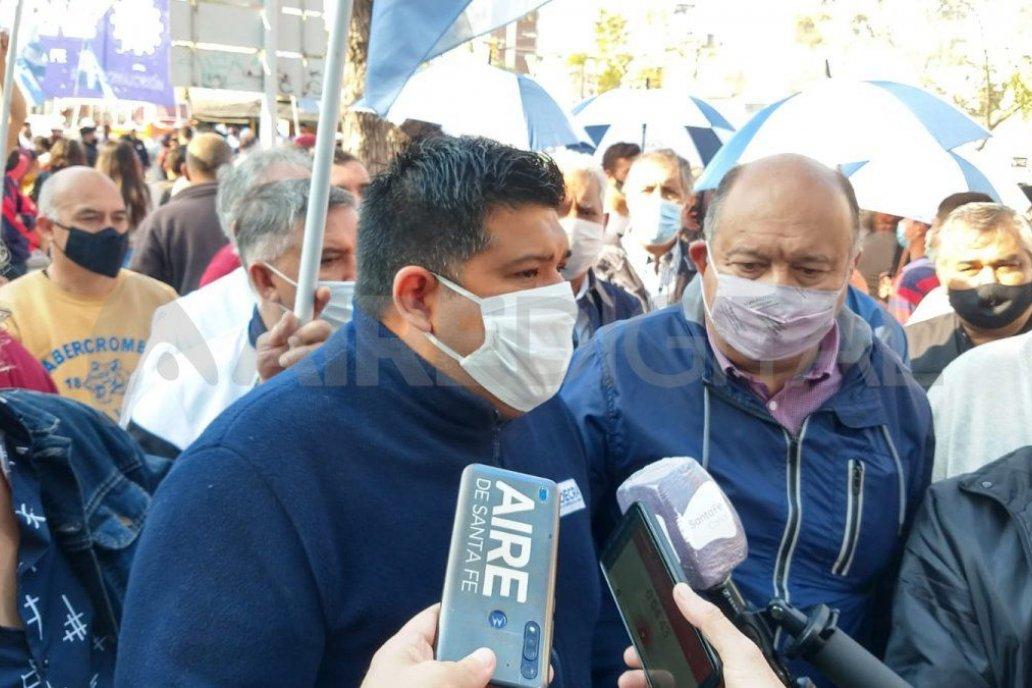 Daniel Roa condujo varias movilizaciones para resistir la medida nacional.