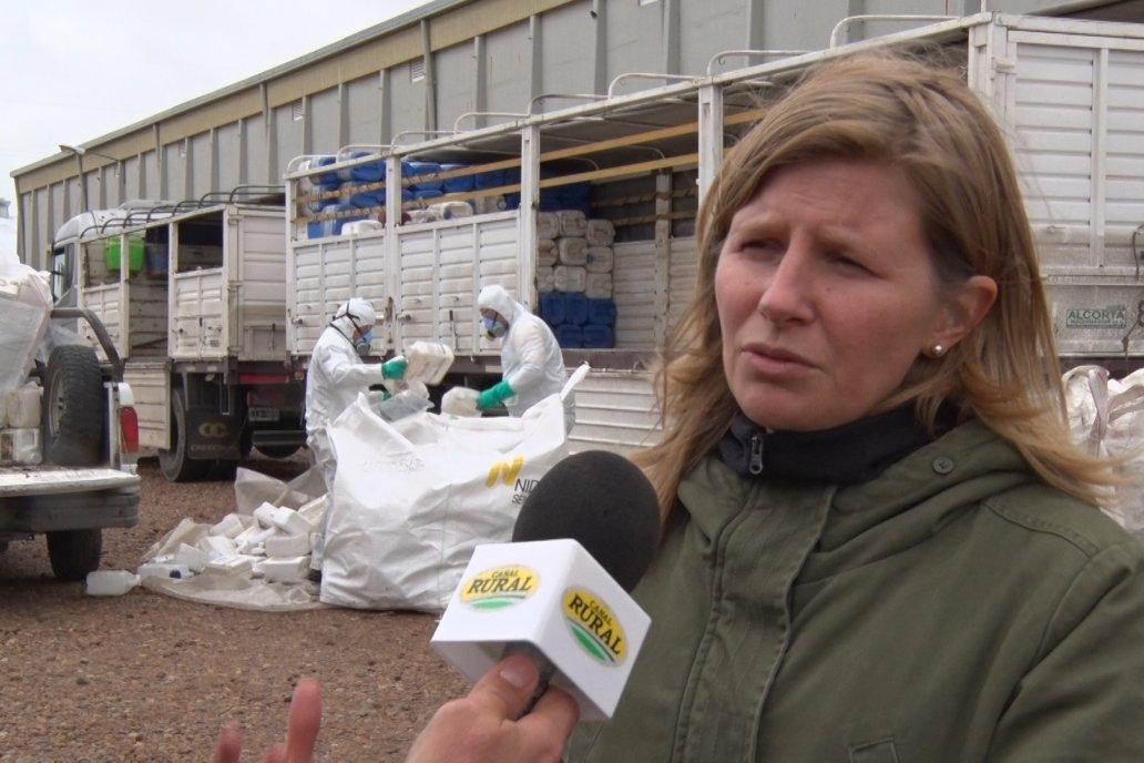 Campaña Itinerante de Recolección de Envaces Vacios de Fitosanitarios  CampoLimpio en Daser Agro - Victoria
