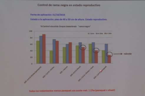 Jornada Capacitación Manejo de Malezas Dificiles - INSER y Syngenta - Victoria, Entre Ríos