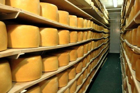 Firmeza en las exportaciones de productos lácteos