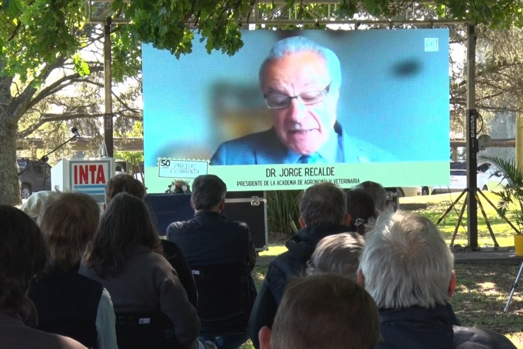 Acto Institucional 50 Aniversario de las Parcelas de Escorrentía de la EEA INTA Paraná